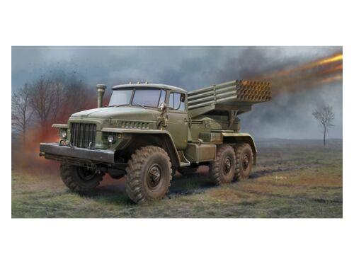 Trumpeter Russian BM-21 Grad Multiple RocketLaunch 1:35 (01028)