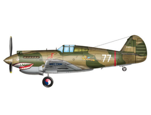 Trumpeter H-81A-2(AVG) 1:48 (05807)