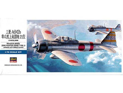 Hasegawa A6M2 Model 21 Zero 1/72 (D21)