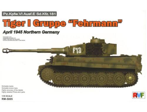 "Rye Field Model Tiger I Gruppe ""Fehrmann"" April 1945 1/35 (5005)"
