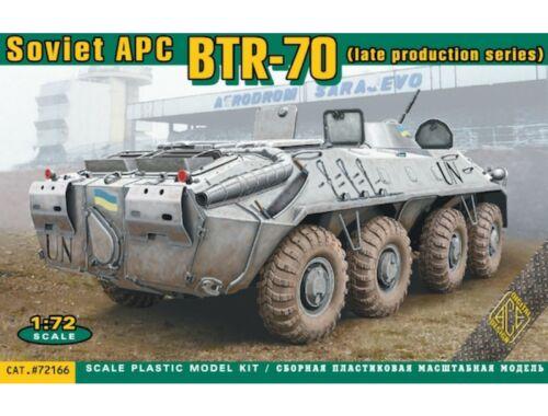 ACE BTR-70 Soviet APC late prod. 1:72 (72166)