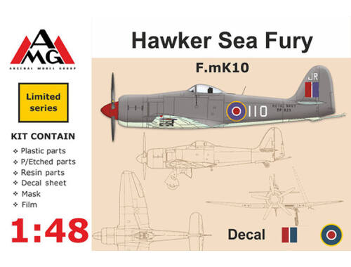 AMG F.mK10 Hawker Sea Fury 1:48 (AMG48601)
