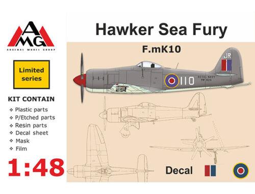 AMG F.mK10 Hawker Sea Fury 1:48 (AMG48601)