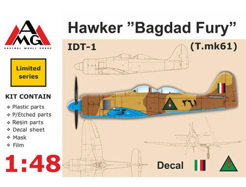 """AMG IDT-1 Hawker """"Bagdad Fury"""" 1:48 (AMG48602)"""