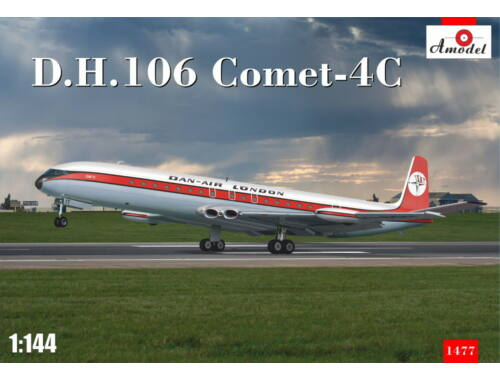 Amodel D.H.106 Comet-4C 1:72 (1477)