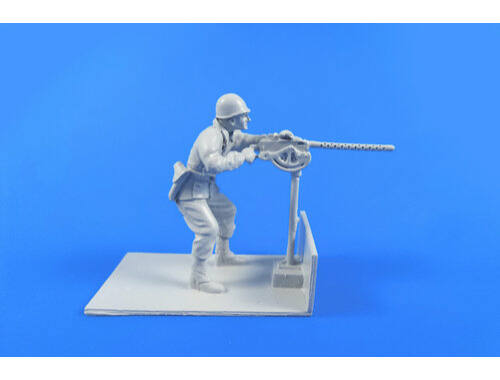 CMK US Gunner with Browning M2 machine gun for CMK Weasel kit 1:48 (F48311)