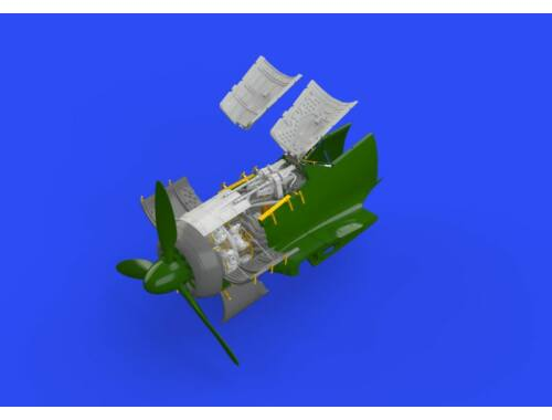 Eduard Fw 190A-5 engine