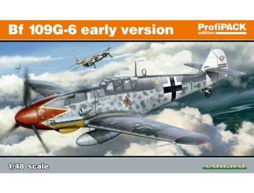 Eduard Bf 109G-6 early version ProfiPACK 1:48 (82113)