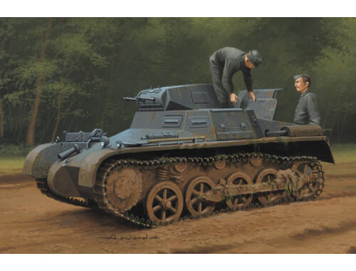 Hobby Boss German Panzer 1Ausf A Sd.Kfz.101(Early/ Late Version) 1:35 (80145)