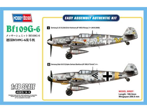 Hobby Boss Bf109G-6 1:48 (81751)