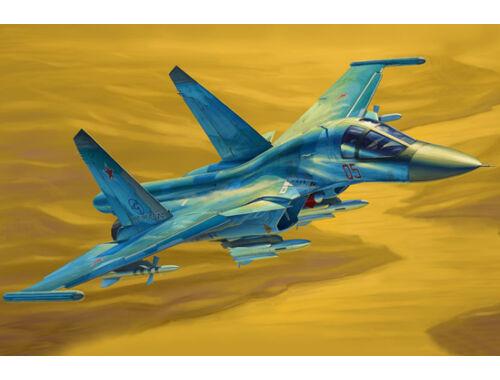 Hobby Boss Russian Su-34 Fullback Fighter-Bomber 1:48 (81756)