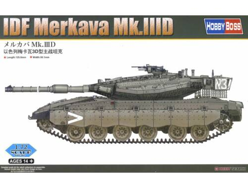 Hobby Boss IDF Merkava Mk.IIID Easy kit 1:72 (82916)