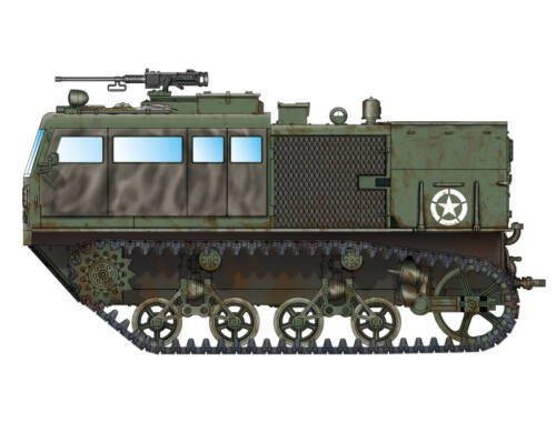 Hobby Boss M4 High Speed Tractor (3-in./90mm) 1:72 (82920)