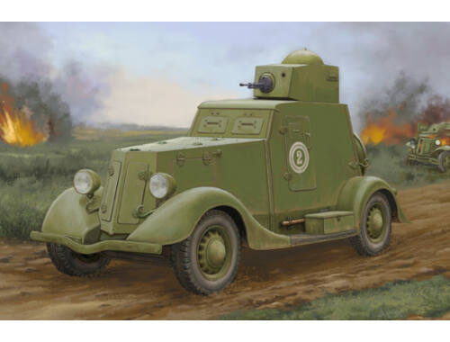 Hobby Boss Soviet BA-20 Armored Car Mod.1939 1:35 (83883)