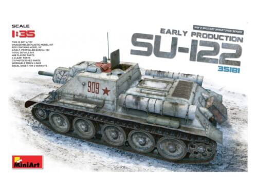 Miniart SU-122 (Early Production) 1:35 (35181)