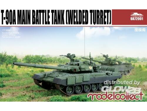 Modelcollect T-90A Main Battle Tank (welded turret) 1:72 (UA72001)