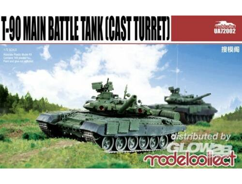Modelcollect T-90 Main Battle Tank (cast turret) 1:72 (UA72002)