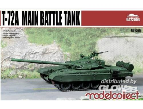 Modelcollect T-72A Main battle tank 1:72 (UA72004)