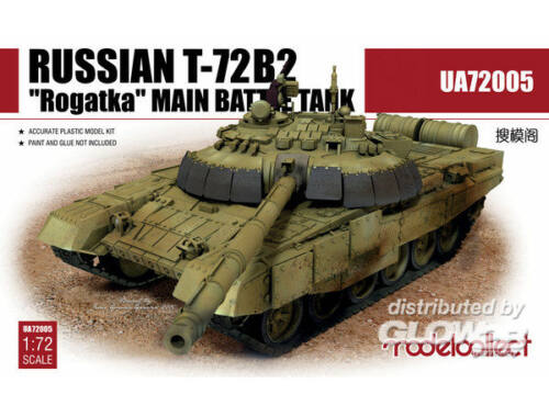 "Modelcollect Russian T-72B2""Rogatka""Main Battle Tank 1:72 (UA72005)"