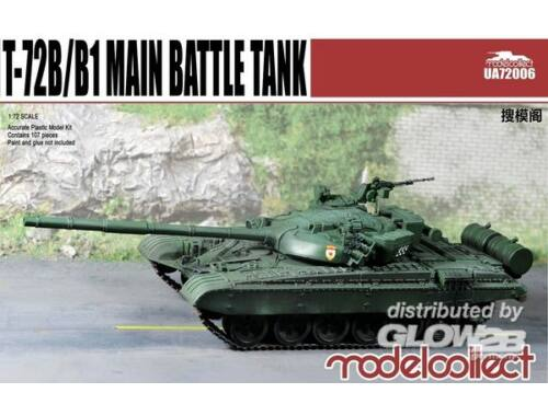 Modelcollect T-72B/B1 Main battle tank 1:72 (UA72006)