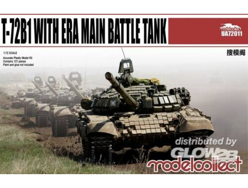 Modelcollect T-72B1 with ERA Main Battle Tank 1:72 (UA72011)