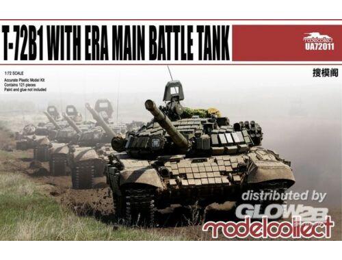 Modelcollect T-72B1 with ERA Main Battle Tank 1:72 (UA72011)