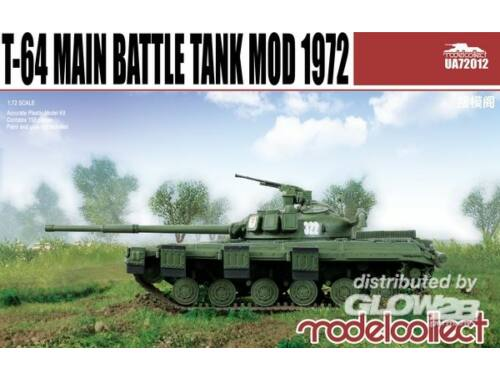 Modelcollect T-64 Main Battle Tank Mod. 1972 1:72 (UA72012)