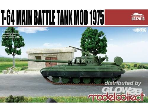 Modelcollect T-64B Main Battle Tank Mod 1975 1:72 (UA72013)
