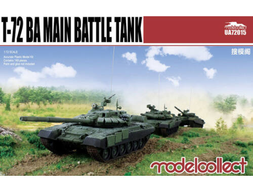 Modelcollect T-72 BA Main Battle Tank 1:72 (UA72015)