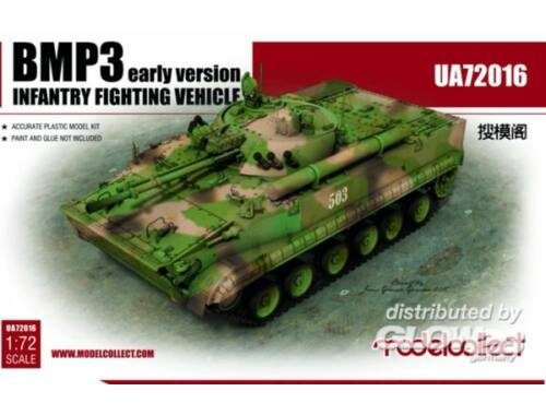 Modelcollect BMP3 Infantry Fighting Vehicle early version 1:72 (UA72016)
