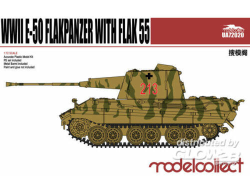Modelcollect Germany E-50 Flakpanzer with Flak55 1:72 (UA72020)