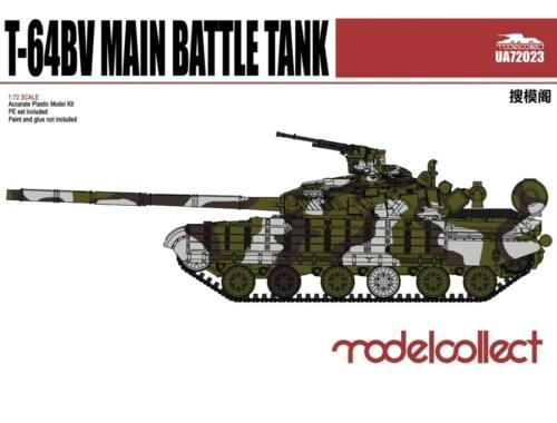 Modelcollect T-64BV Main Battle Tank Mod 1985 1:72 (UA72023)