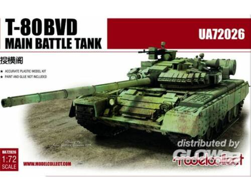 Modelcollect T-80BVD Main Battle Tank 1:72 (UA72026)