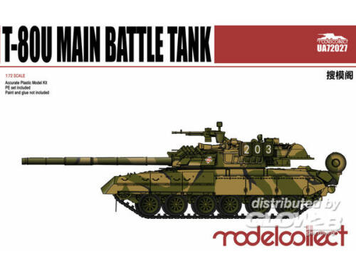 Modelcollect T-80U Main Battle Tank 1:72 (UA72027)