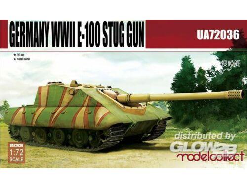 Modelcollect Germany E-100 STUG gun 1:72 (UA72036)