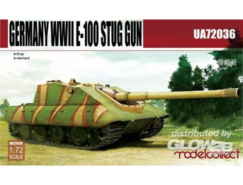 Modelcollect Germany E-100 STUG gun 1:72 (UA72036)