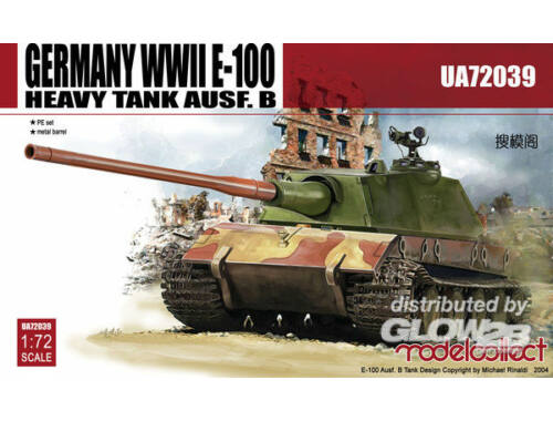 Modelcollect Germany E-100 Heavy Tank Ausf.B 1:72 (UA72039)