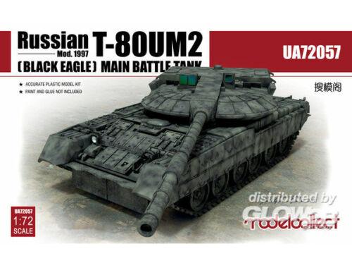 Modelcollect Russian T-80UM2 Mod.1997 (Black eagle) Main Battle Tank 1:72 (UA72057)