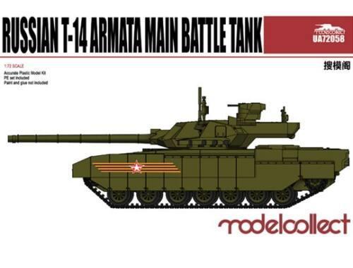 Modelcollect Russian T-14 armata Main Battle Tank 1:72 (UA72058)