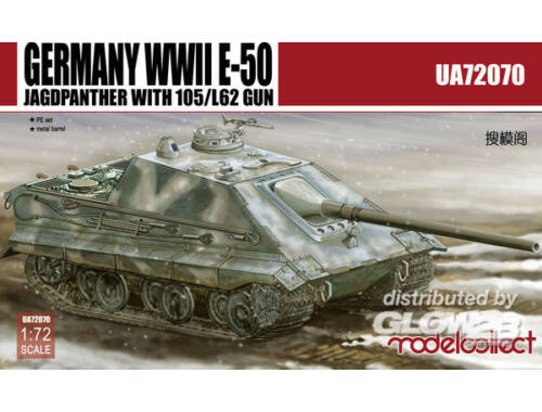 Modelcollect Germany E-50 Jagdpanzer with105/L62 1:72 (UA72070)