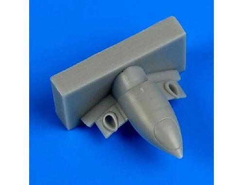 Quickboost A6M Zero type 21/32 exhaust for Tamiya 1:72 (72517)