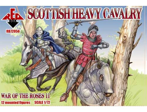 Red Box Scottish heavy cavalry,War o.the Roses11 1:72 (72056)