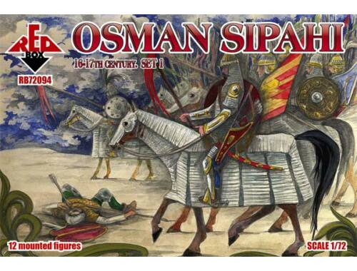 Red Box Osman Sipahi, 16-17th century, set 1 1:72 (72094)