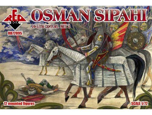 Red Box Osman Sipahi, 16-17th century, set 2 1:72 (72095)