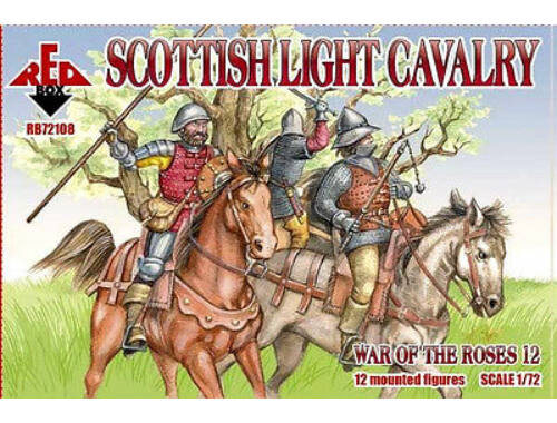 Red Box Scottish light cavalry,War o.the Roses12 1:72 (72108)