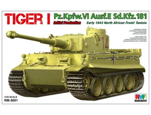 Rye Field Model Tiger I Initial Production Early 1943 1:35 (5001)
