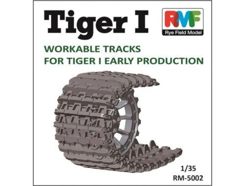 Rye Field Model Tiger I Workable Tracks for Tiger I 1:35 (5002)