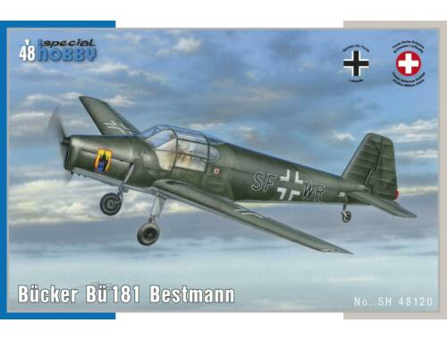 Special Hobby Bücker Bü 181 Bestmann 1:48 (48120)