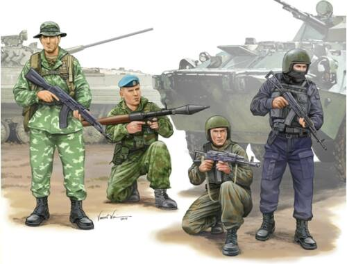 Trumpeter Russian Special Operation Force 1:35 (437)