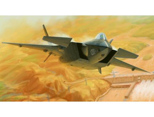 Trumpeter Chinese J-20 Mighty Dragon (Prototype No.2011) 1:72 (1665)